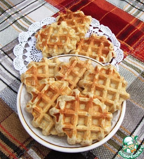 Рецепты толстых вафель фото