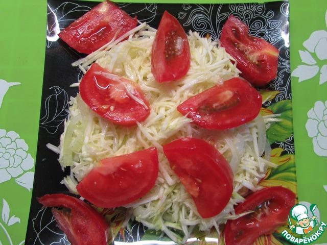 фото салат с сердцем