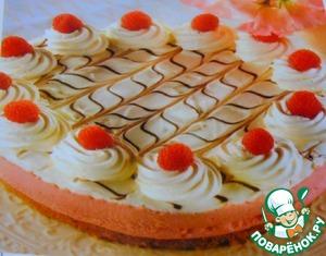Рецепт Малиновый чизкейк с белым шоколадом