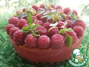 Рецепт Живой желейный торт «Малиновое чудо»