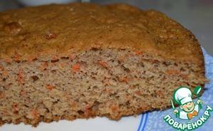 Как приготовить Морковно-маковый пирог рецепт с фотографиями