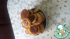 Рецепт Шанежки из творожного теста с фаршем