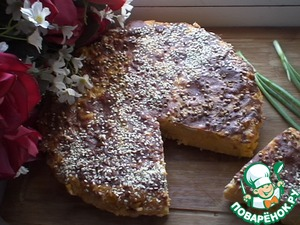 Рецепт Кабачковая запеканка с кукурузой