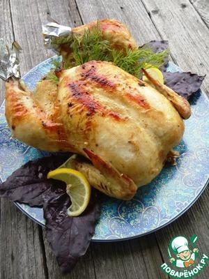 Рецепт Курица в цитрусовом маринаде