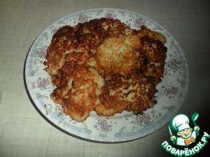 Рецепт Луковые оладьи