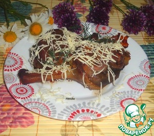 Рецепт Ножки куриные в вишневом маринаде