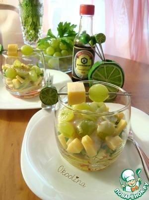 Рецепт Веррин с сельдереем и виноградом