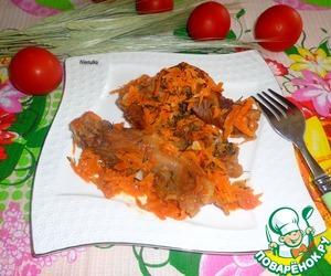 Рецепт Крылышки тушеные в томатном соке