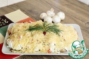 Рецепт Салат из цветной капусты с сюрпризом