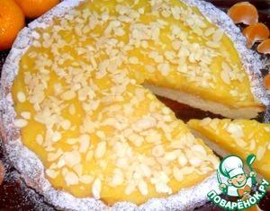 Рецепт Тарт с мандариново-лимонным муссом