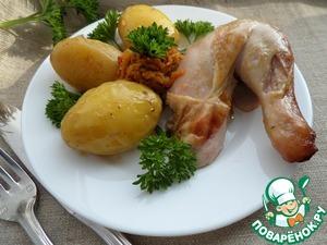 Рецепт Курица в овощном маринаде