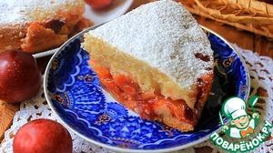 Рецепт Простой пирог со сливами в мультиварке