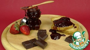 Рецепт Клубничное варенье с шоколадом