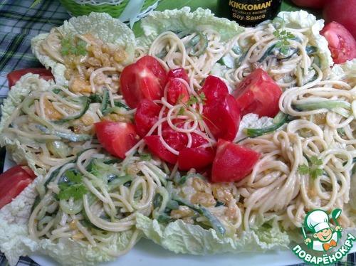 Салат из макарон рецепт очень