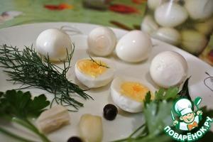 Рецепт Маринованные перепелиные яйца