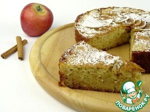 Готовим Шарлотка с яблоками в духовке домашний рецепт приготовления с фото