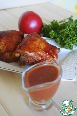 Рецепт Курица в томатном соусе-маринаде