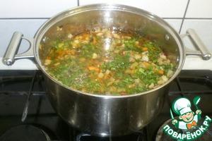 Рецепт Мясное рагу с фасолью