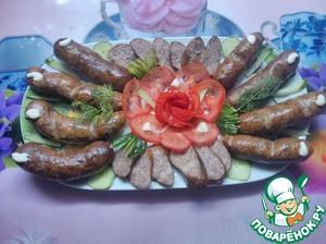 Рецепт Копчёние колбасы в домашних условиях