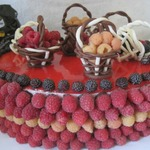 Торт Малиновый рай