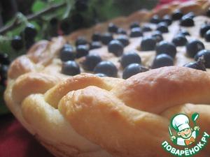 Пирог с черной смородиной домашний рецепт приготовления с фото пошагово