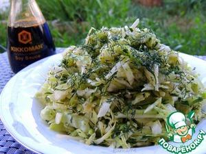 Рецепт Огуречно-капустный салат