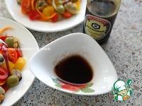 Салат из овощей с мидиями ингредиенты