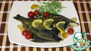 Рецепт Камбала в духовке по-итальянски
