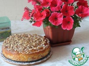 Рецепт Израильский мокрый яблочный пирог