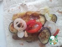 Овощи гриль в лаваше ингредиенты