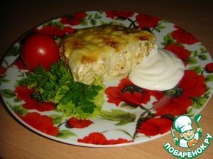 Рецепт Капустный пирог-запеканка