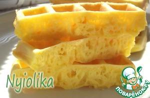 Рецепт Сырные вафли