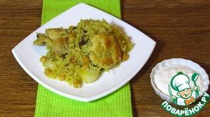 Рецепт Иорданский плов с курицей