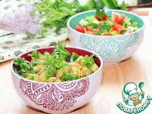 Рецепт Жареный картофель в индийском стиле
