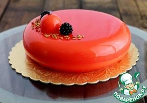 Сливочно-абрикосовый торт