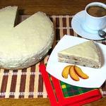 """Банановый торт с кремом """"Рафаэлло"""""""