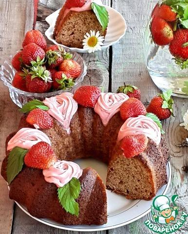Кексы ягодами рецепты фото пошагово