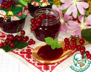 Рецепт Конфитюр из красной смородины