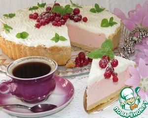 """Рецепт Творожно-ягодный торт """"Нежность"""""""