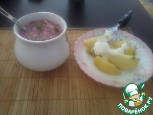 Рецепт Холодный борщ по-литовски