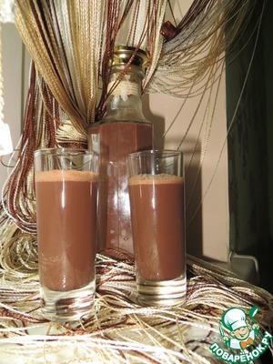Рецепт Шоколадный ликер из какао