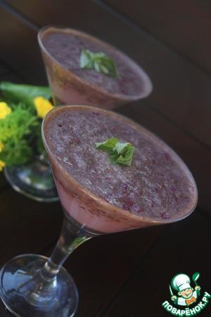 Рецепт Молочный коктейль с вишней