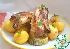 Рецепт Запеченные свиные ребра
