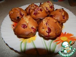 Рецепт Кексики с ягодами
