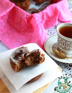 Рецепт Шоколадные пончики