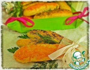 Как готовить Хлебные палочки с пшенными хлопьями вкусный рецепт с фотографиями пошагово