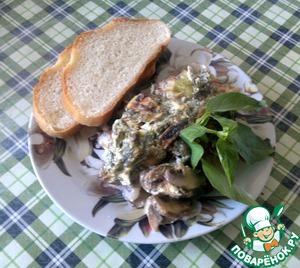 Рецепт Филе сома в духовке с овощами