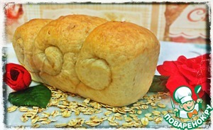 Рецепт Домашний овсяный хлеб