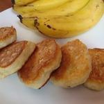 Пышные банановые сырники