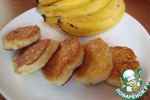 Рецепт Пышные банановые сырники